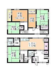 [一戸建] 埼玉県坂戸市泉町 の賃貸【/】の間取り