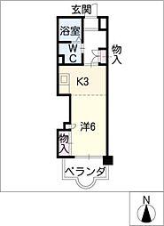 つかさ壱番館[2階]の間取り