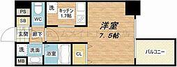 大阪府大阪市天王寺区味原町の賃貸マンションの間取り