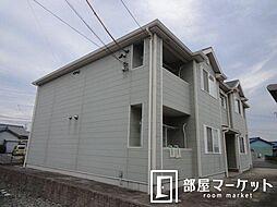 愛知県みよし市西一色町東の賃貸アパートの外観