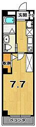 RUSCELLO-UNO[5階]の間取り
