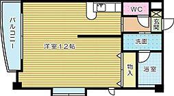 ディアコート守恒[2階]の間取り