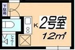 コーポ17[202号室]の間取り