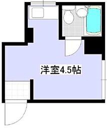 ヤマギシコーポラス[3階]の間取り