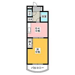 ハイム・コターナ[3階]の間取り