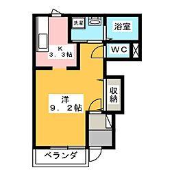 ルミナスコート C棟[1階]の間取り