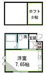 サンクヴェール小金井I[2階]の間取り