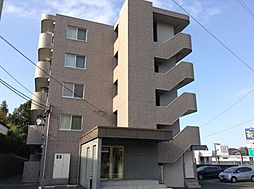 宮城県仙台市泉区市名坂字新道の賃貸マンションの外観