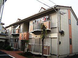 京都府城陽市富野北垣内の賃貸アパートの外観
