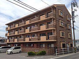 愛知県西尾市楠村町明神左右の賃貸マンションの外観