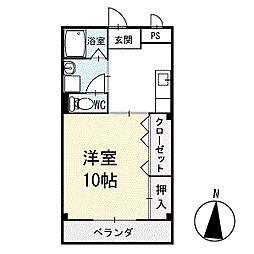 アイランドM 1階[108号室]の間取り