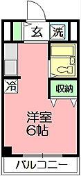 エステートピア湘南[3階]の間取り