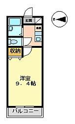 マンション大洋2[D−2号室 号室]の間取り