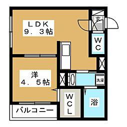 Arena[4階]の間取り