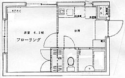 西早稲田リミターレ[202号室号室]の間取り