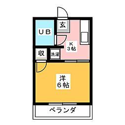 セラータ床立[2階]の間取り