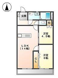 水切浅田ビル[3階]の間取り