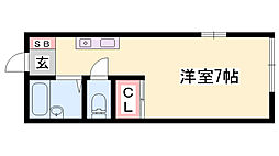 白浜の宮駅 3.5万円