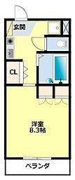 猿投駅 4.4万円