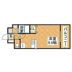 ララプレイス新大阪LD[11階]の間取り