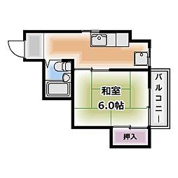 ニューライフ藤[2階]の間取り