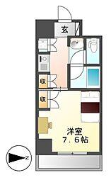 プログレンス栄[8階]の間取り