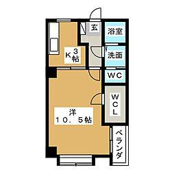 風見乃郷[2階]の間取り