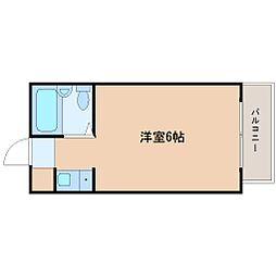 プレアール深江橋[3階]の間取り