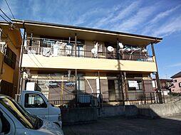 埼玉県新座市石神5丁目の賃貸アパートの外観