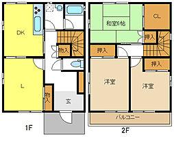 [一戸建] 愛知県名古屋市名東区よもぎ台3丁目 の賃貸【/】の間取り