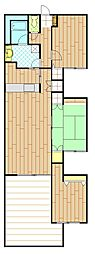 ガーデンテラス逗子東[11階]の間取り