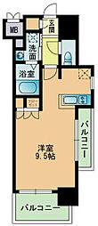 RJRプレシア南福岡[801号室]の間取り