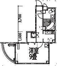 メゾン・マリゼッタII[153号室号室]の間取り