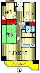 インシュランスビルディング XIII[4階]の間取り