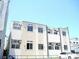 愛知県名古屋市中川区前並町の賃貸アパートの外観