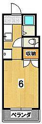 ハイツイザワ[302号室]の間取り