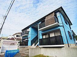 兵庫県神戸市垂水区朝谷町の賃貸アパートの外観