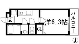 パル石橋[1階]の間取り