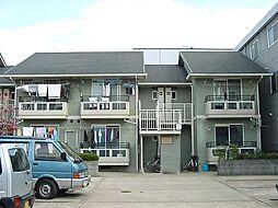 京都府京都市伏見区両替町の賃貸アパートの外観