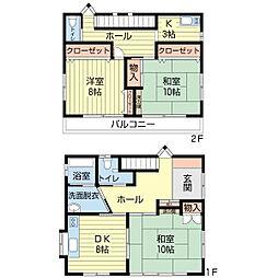 [一戸建] 埼玉県深谷市西島町3丁目 の賃貸【/】の間取り