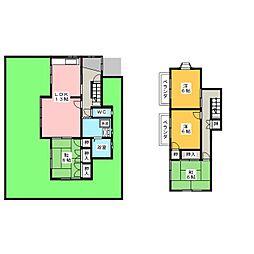 [一戸建] 愛知県名古屋市緑区諸の木1丁目 の賃貸【/】の間取り
