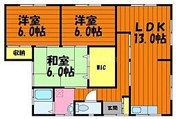 [一戸建] 岡山県倉敷市白楽町丁目なし の賃貸【/】の間取り