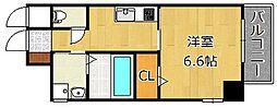 ピノ到津[4階]の間取り