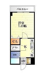 エクセルハイム[6階]の間取り