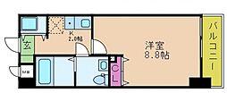 シーカルア アリモト[3階]の間取り
