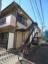コーポ筑波[1階]の外観