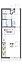間取り,1K,面積25.09m2,賃料4.2万円,山陽電鉄本線 西江井ヶ島駅 徒歩3分,山陽電鉄本線 西江井ヶ島駅 徒歩20分,兵庫県明石市大久保町江井島832