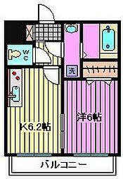 埼玉県さいたま市北区宮原町3丁目の賃貸マンションの間取り