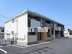 岡山県岡山市南区福富中2丁目の賃貸アパートの外観