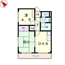 Espoir Takaya[2階]の間取り